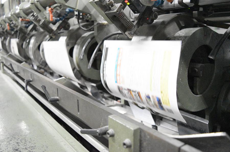 出版社、印刷会社、製本工場、配送会社まで自社グループで全て持っている強み